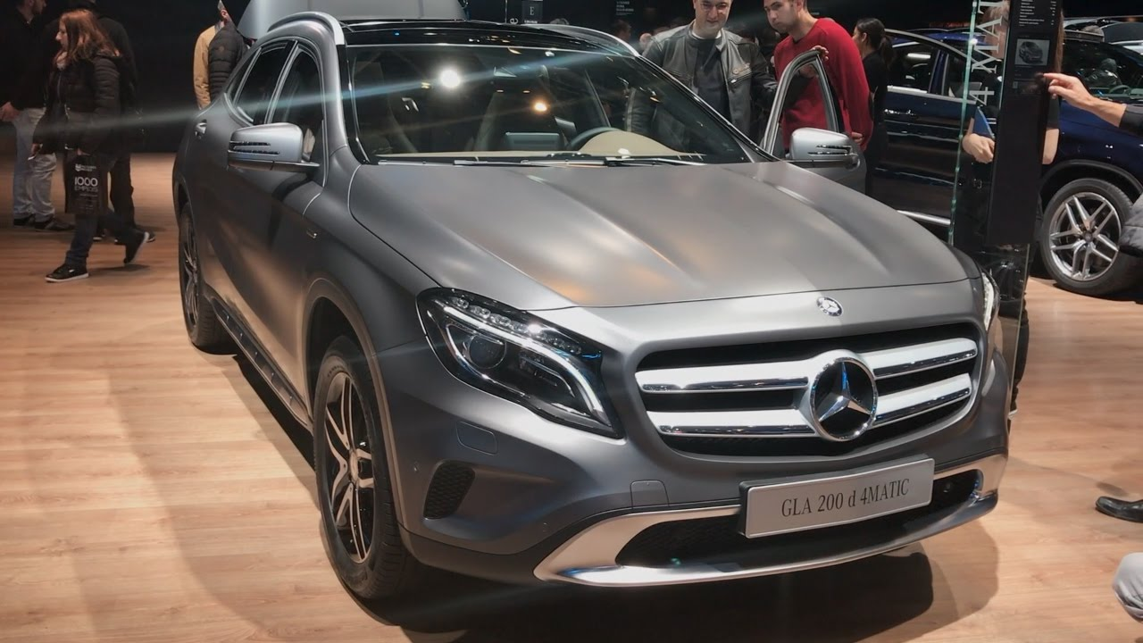 mercedes benz gla 200 d 4matic 2016 in detail review. Black Bedroom Furniture Sets. Home Design Ideas
