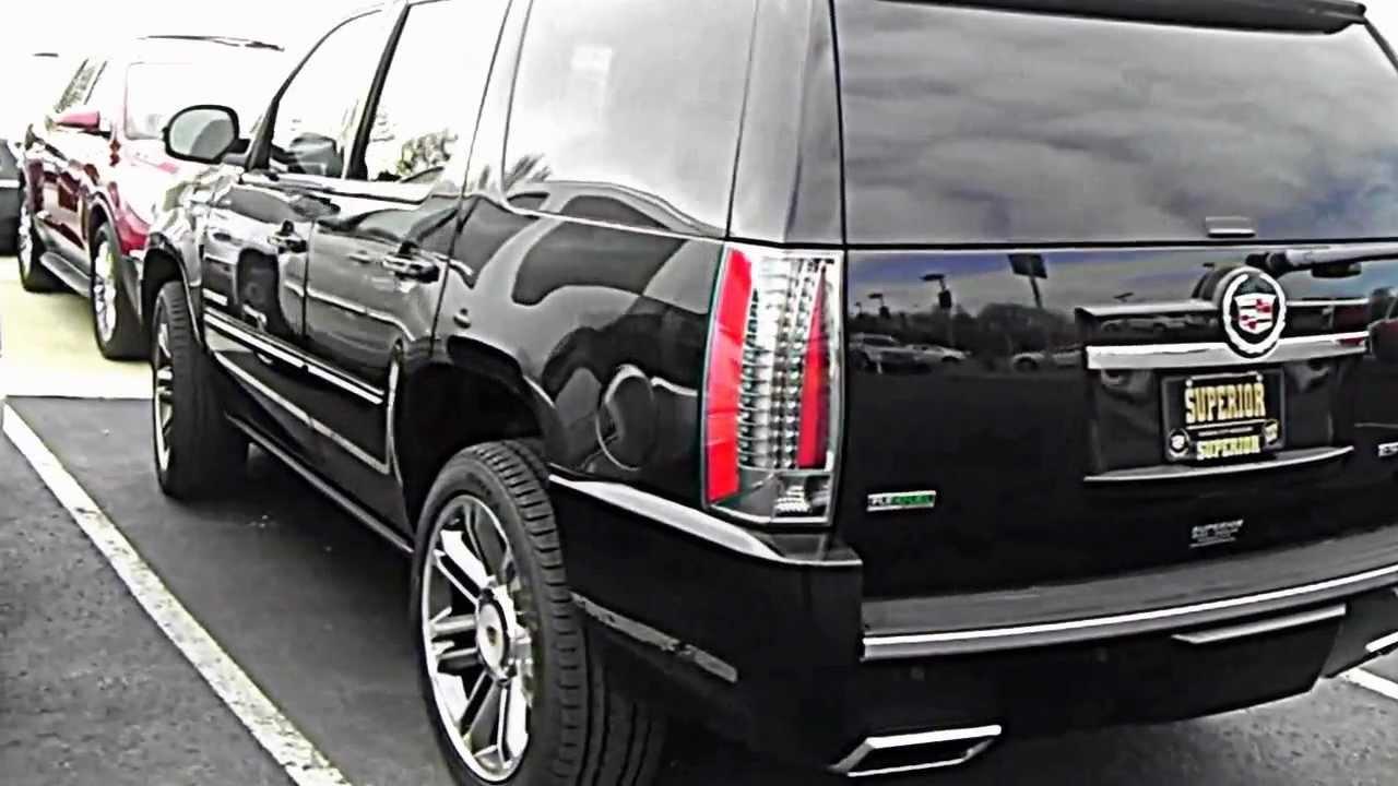 2012 Premium Trim Cadillac Escalades Youtube