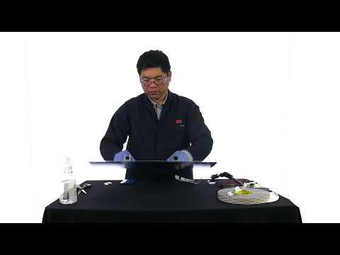 Coller le raidisseur en aluminium au panneau en aluminium