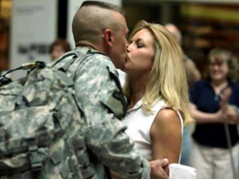 Leaving On A Jet Plane - tribute to the troops