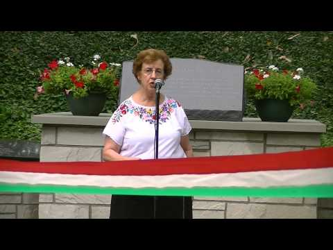 Cleveland Hungarian Cultural Garden Legacy Wall