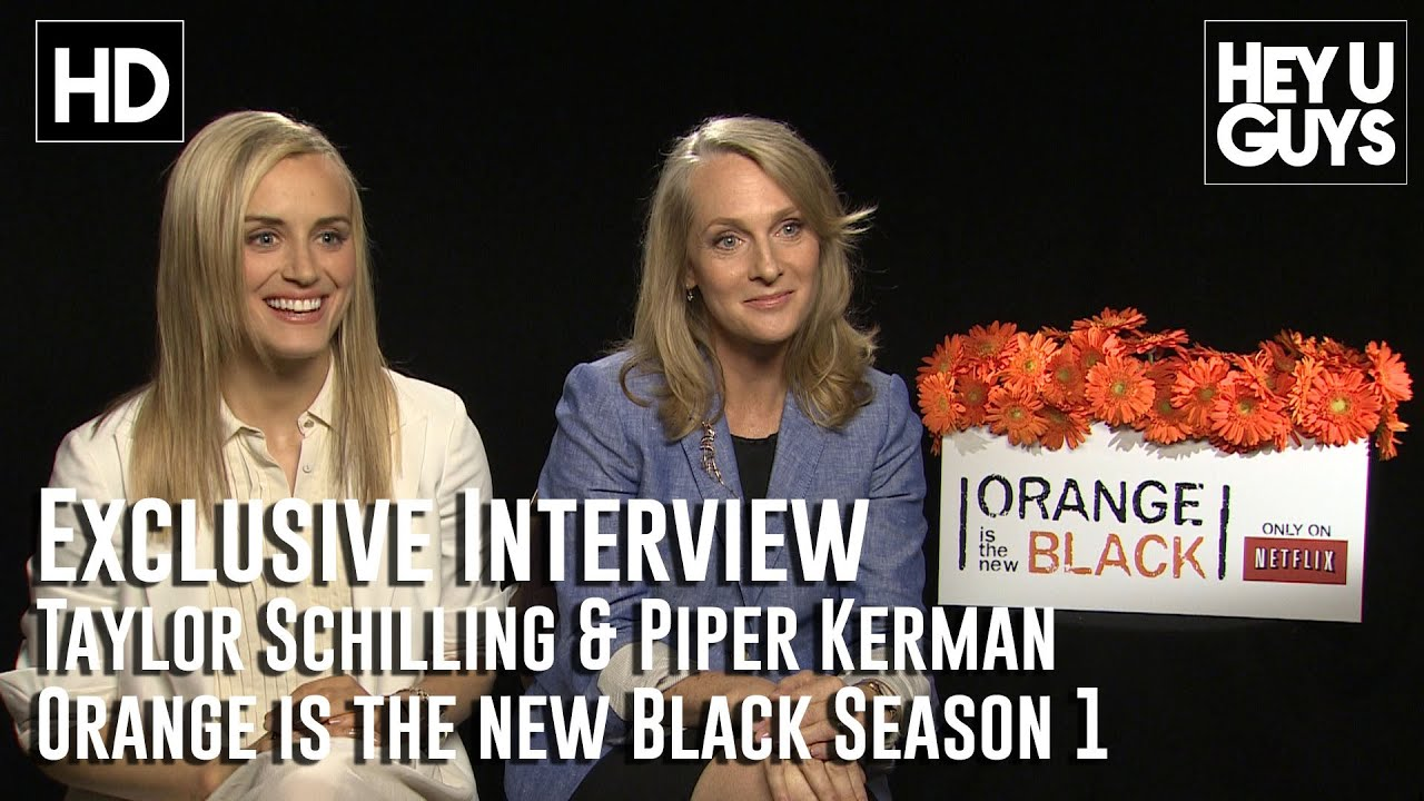 b128254f8266 Taylor Schilling   Piper Kerman - Orange is the New Black Exclusive  Interview