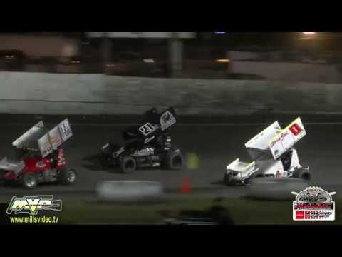 King of the West-NARC Sprint Cars @ Petaluma July 14, 2018