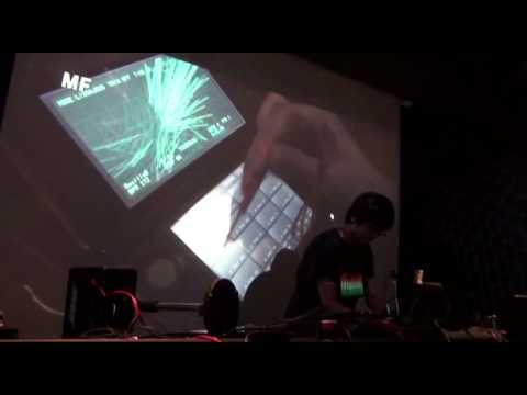 "PAINTVOX ""Oscillodriver (Play the KORG DSN-12) "" Performs live in Japan!"