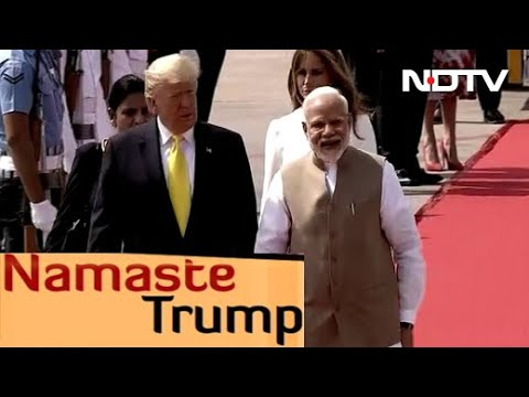 Ahmedabad Rolls Out Red Carpet For Trumps
