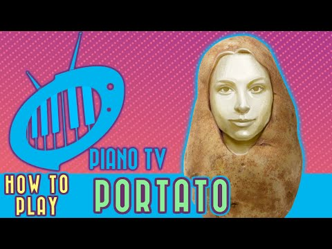 How to Play Portato on Piano