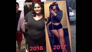 WEIGHT LOSS JOURNEY | How I lost 120lbs naturally | Lizeth Barreto