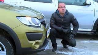Первый обзор нового Renault Sandero Stepway 2014 (2015)!(Первый обзор нового Renault Sandero Stepway 2014/2015 от съемочной группы Петровского Автоцентра. Клиренс 195 мм, обогрев..., 2014-12-01T13:36:50.000Z)