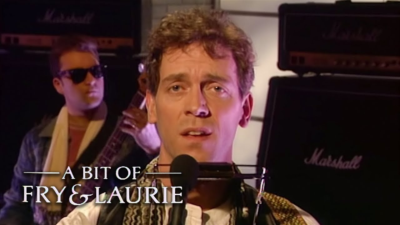 Hugh Laurie's Protest Song   A Bit of Fry and Laurie   BBC Comedy Greats