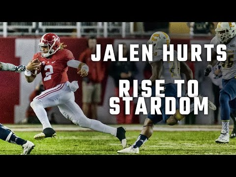 The path that led Jalen Hurts to stardom