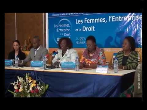 "COMPIL FORUM ""WOMAN, BUSINESS AND THE LAW"" (BANQUE MONDIALE et SFI) (Agence KDA-PRO Togo)"