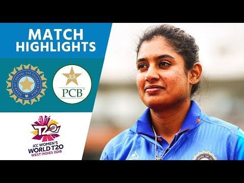 India v Pakistan - Women's World T20 2018 highlights