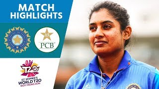 Raj Stays Cool To Guide India Home | India vs Pakistan | Women's #WT20 2018 - Highlights