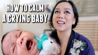 How to Calm a Crying Baby - itsjudyslife