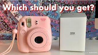 Polaroid Camera vs. Polaroid Printer Comparison (Fujifilm Instax)
