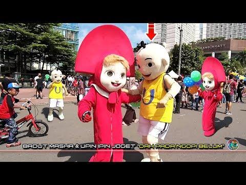 Badut UPIN IPIN vs MASHA !! ☕ Udah Pada Ngopi Belum ?!