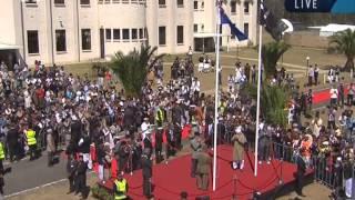 Flag Hoisting Ceremony Jalsa Salana Australia 2013 by Hazrat Mirza Masroor Ahmad