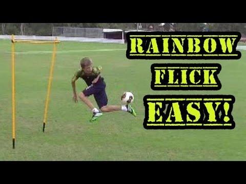 Soccer Drills - Rainbow Flick