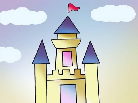Tutorial de dibujo: como dibujar un sencillo castillo ...