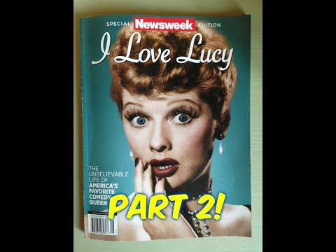 I Love Lucy-- Newsweek Magazine Tour--(Pages 34-67)--Paging Through- Part 2