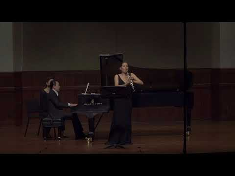 Three Romances for Violin (arr. clar.) and Piano op.22 - Clara Schumann - Spiegelberg and Chang