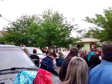 Caleb Johnson Idol Homecoming Parade