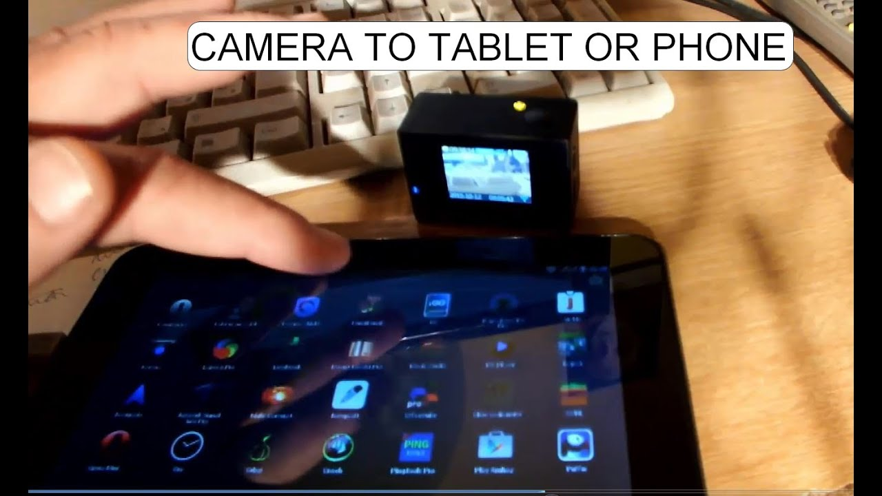 how to connect phone to tablet