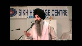 Gurbani Katha - June 07, 2009 Asa di var Jeo Bhaavae Tio Raakh Lae - Bhai Kulwant Singh Ji