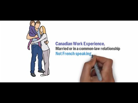 canadian experience class express entry permanent residence for family