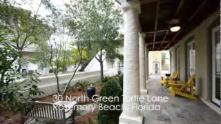 rosemary beach florida 4br gulf view vacation rental home 30 north green turtle lane