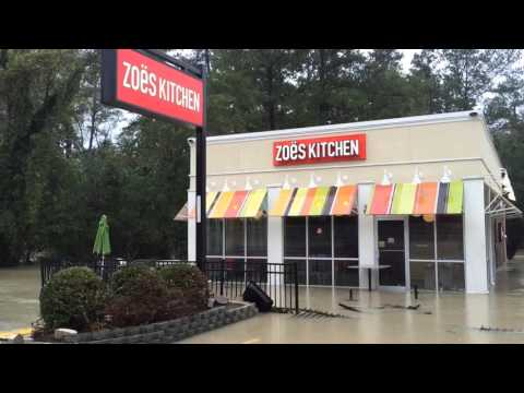 VIDEO: Flooding damages Forest Acres businesses, Forest Drive