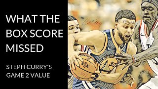Curry's undetected gravity | All the ways Steph creates for others in the Finals