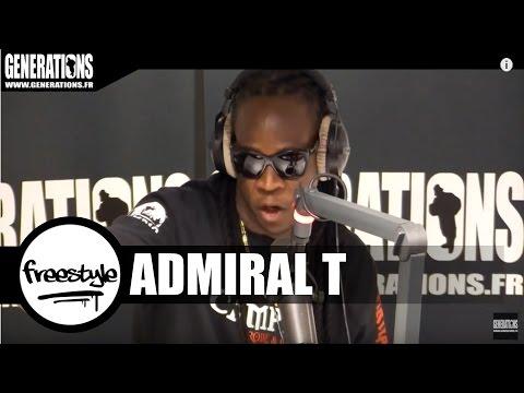 Youtube: Admiral T – Freestyle (Live des studios de Generations)