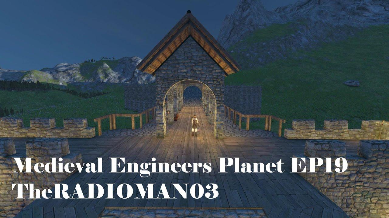 Medieval Engineers EP19  Market Roofing  & Medieval Engineers EP19
