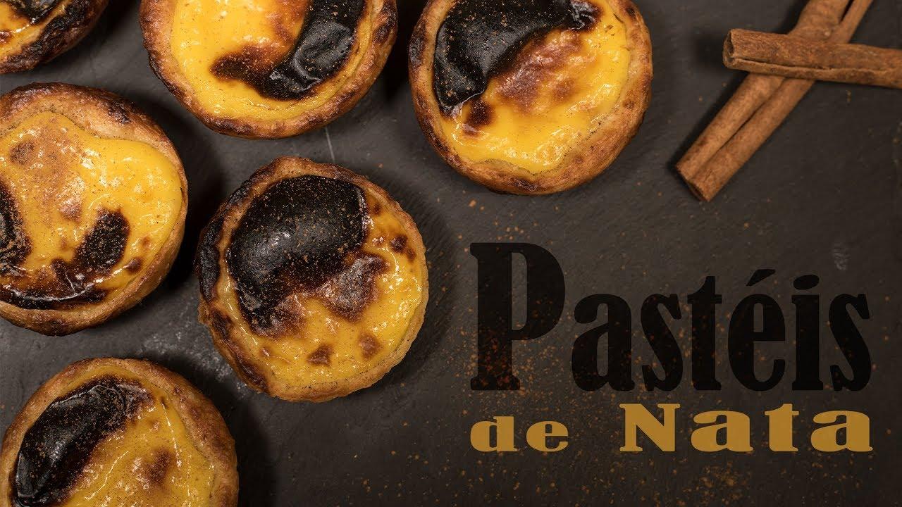 Pastel De Nata Rezept Fur Original Portugiesische Pasteis De Belem
