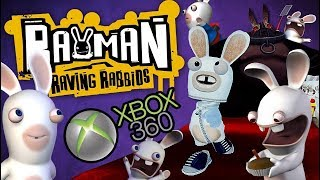 Rayman Raving Rabbids for Xbox 360 (No Commentary) Full Playthrough