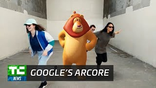 Google shows off ARCore, its answer to Apple ARKit.