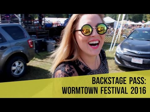 WHAT IT'S LIKE AT A MUSIC FESTIVAL (WORMTOWN 2016)