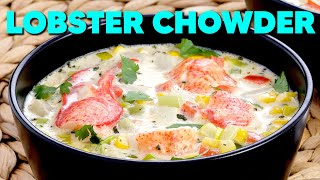 Professional Baker Teaches You How To Make LOBSTER CHOWDER!