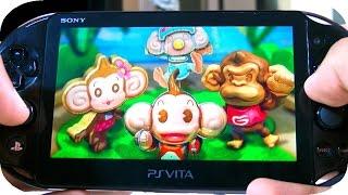 Ps Vita - Super Monkey Ball: Banana Splitz Gamepla