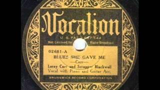 """Scrapper Blackwell """"A"""" Blues (1961)"""