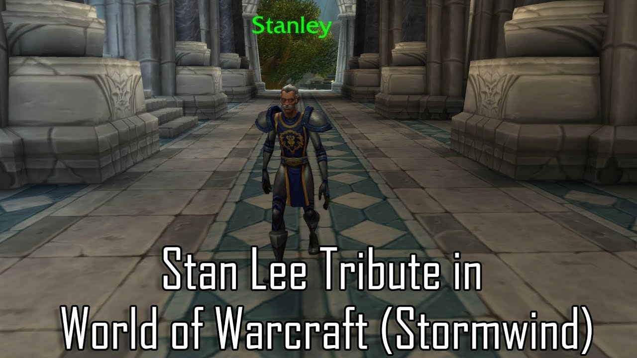 Stan Lee Character Found in World of Warcraft | Digital Trends