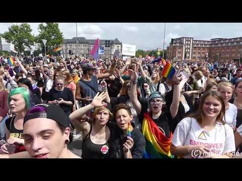 Hamburg Pride - CSD 2017 - Die gesamte Parade [Sa. 05.08.2017]