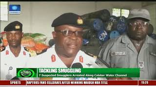 Navy Nabs Seven Suspected Smugglers Along Calabar Water Channel