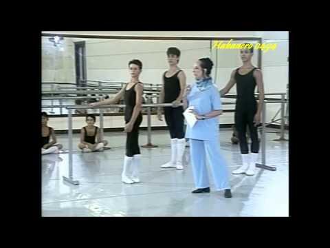Escuela Nacional de Ballet - Clase Parte 1