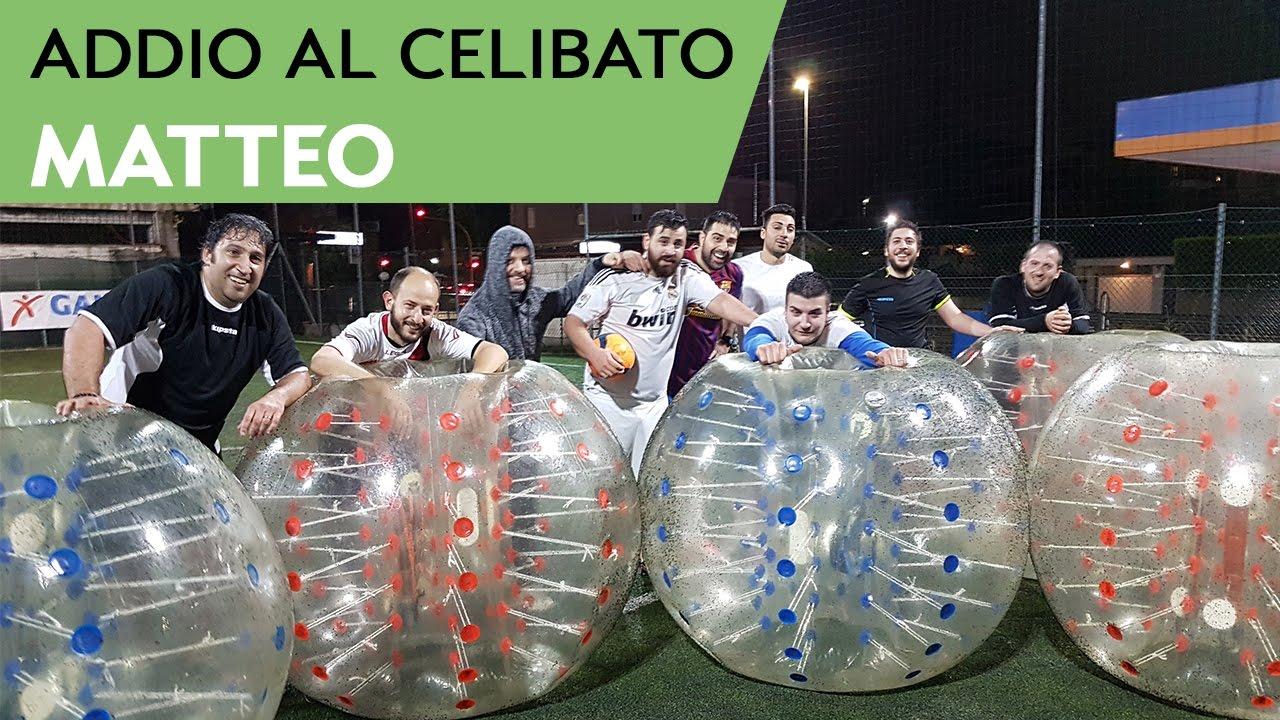 Highlights bubble football calcio bolla roma addio al for Cabina di addio al celibato