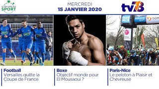 Si On Parlait Sport. Talk-show du mercredi 15 janvier 2020