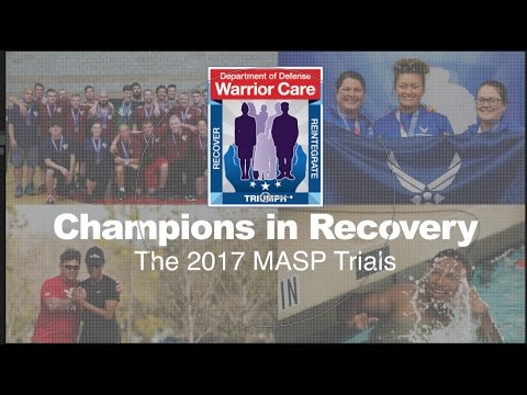 2017 DoD Warrior Games Military Service Trials