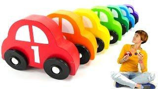 Капуки Кануки для малышей. Развивающие игрушки МАШИНКИ и ГАРАЖИ для самых маленьких