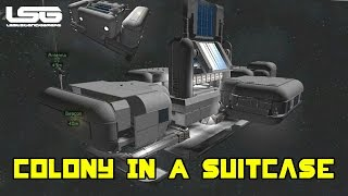 Space Engineers - Colony In A Suitcase, Popup Space Station